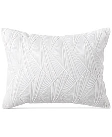 "DKNY Refresh Embroidered 12"" x 16"" Decorative Pillow"