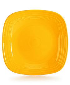 Fiesta Daffodil Square Dinner Plate