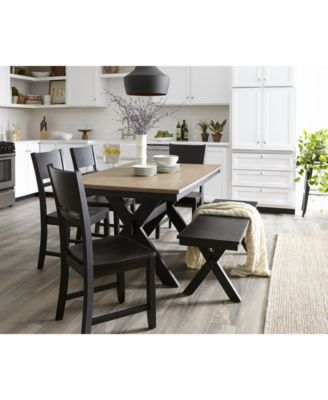 Archer Dining Table Created For Macys Furniture Macys - Macys dining room sets
