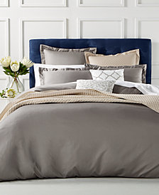 Charter Club Damask Duvet Cover Collection, 100% Supima Cotton 550 Thread Count Created for Macy's