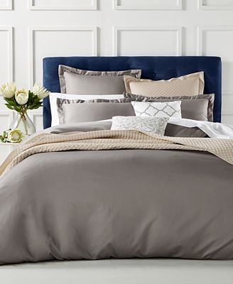 Duvet Cover Collection 100 Supima Cotton 550 Thread Count Created For Macy S