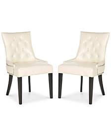 Keeter Set of 2 Ring Dining Chairs, Quick Ship