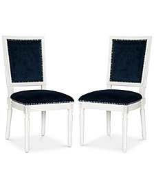Evina Set of 2 Dining Chairs, Quick Ship