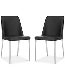 Chandler Set of 2 Dining Chairs, Quick Ship
