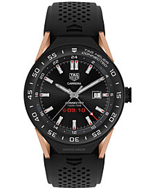 TAG Heuer Modular Connected 2.0 Men's Swiss Black Rubber Strap Smart Watch 45mm SBF8A8013.32FT6076