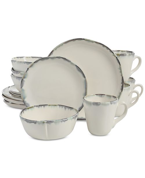 Gibson Elite Cezanne Cream 16-Piece Dinnerware Set