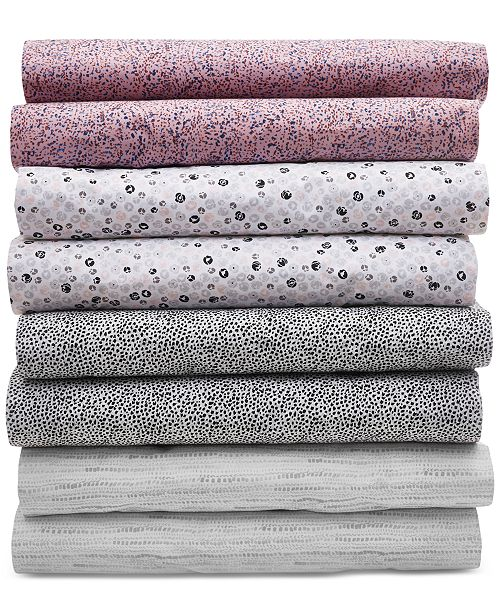 BCBGeneration Cotton 200 Thread Count Printed Sheet Sets