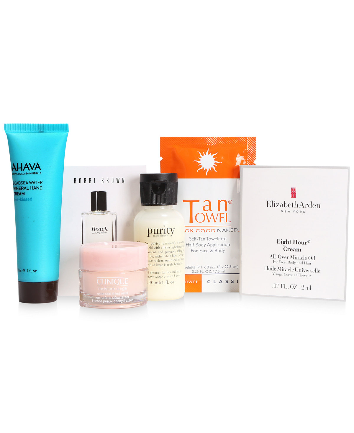 Macy's 7-Pc. Summer Beauty Sampler Gift Set