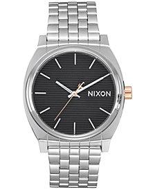 Nixon Time Teller Stainless Steel Bracelet Watch 37mm A045SW