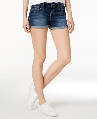 Joe's Edlyn Rolled Jean Shorts - Shorts - Women - Macy's