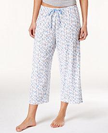 HUE® Icy Margarita Knit Capri Pajama Pants
