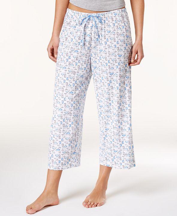 Hue Icy Margarita Knit Capri Pajama Pants