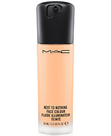 MAC Next to Nothing Face Colour Liquid Foundation