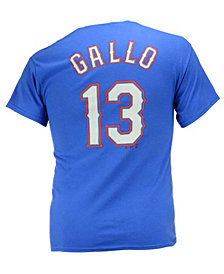 Majestic Men's Joey Gallo Texas Rangers Official Player T-Shirt