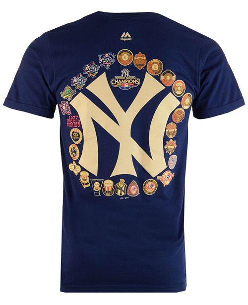 Majestic Men s New York Yankees Championship Run T-Shirt - Sports ... 3e1be0d5c67