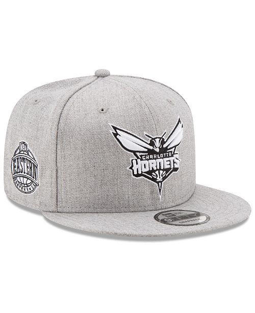 pretty nice f4414 094f9 New Era. Boys  Charlotte Hornets The Heather 9FIFTY Snapback Cap. Be the  first to Write a Review. main image ...