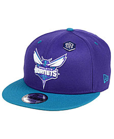 New Era Charlotte Hornets Pintastic 9FIFTY Snapback Cap