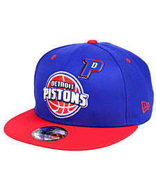 New Era Detroit Pistons Pintastic 9FIFTY Snapback Cap