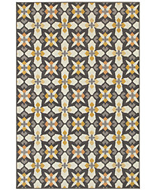 "CLOSEOUT! JHB Design  Soleil Starlight 5'3"" x 7'6"" Indoor/Outdoor Area Rug"