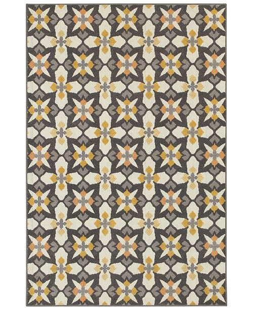 "JHB Design CLOSEOUT!  Soleil Starlight 7'10"" x 10'10"" Indoor/Outdoor Area Rug"