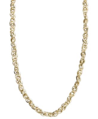 gold grams m necklaces for chain inch white cable solid newburysonline sale necklace chains