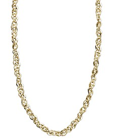 "Necklace, 14k Gold 18"" Perfectina Chain Necklace (1-1/8mm)"