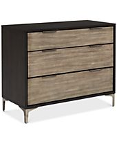 CLOSEOUT! Adler 3 Drawer Chest, Created for Macy's