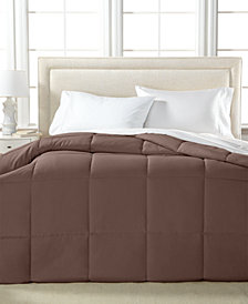 Royal Luxe Lightweight Microfiber Color Down Alternative Full/Queen Comforter, Hypoallergenic Polyester Fiberfill