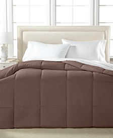 Royal Luxe Lightweight Microfiber Color Down Alternative King Comforter, Hypoallergenic Polyester Fiberfill