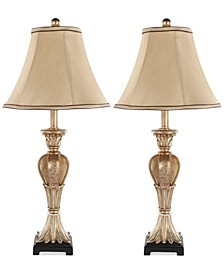 Set of 2 Patrizia Urn Table Lamps