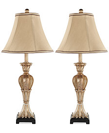 Safavieh Set of 2 Patrizia Urn Table Lamps