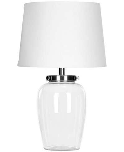 Safavieh evan clear glass table lamp lighting lamps for the safavieh evan clear glass table lamp aloadofball Choice Image