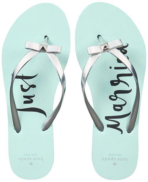 cc19b7266 kate spade new york Nadine Flip Flop Sandals   Reviews - Sandals ...