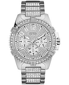 Men's Stainless Steel Bracelet Watch 50mm