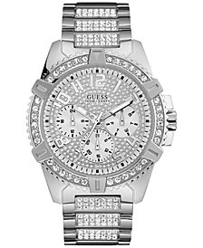 GUESS Men's Stainless Steel Bracelet Watch 50mm U0799G1
