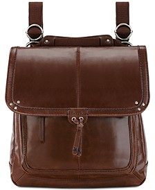 Ventura Convertible Leather Backpack