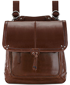 The Sak Ventura Convertible Leather Backpack