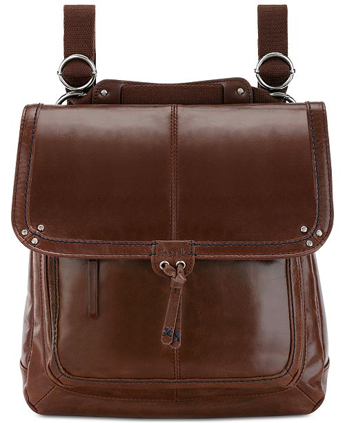 fashion style select for latest attractive colour Ventura Convertible Leather Backpack