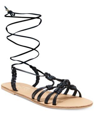 Nanette by Nanette Lepore June Flat Lace-Up Sandals Women