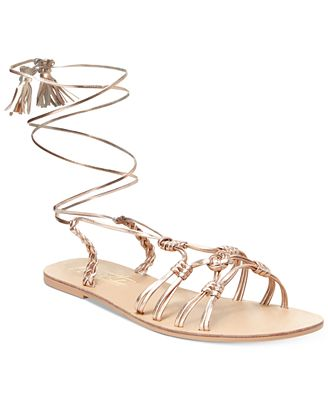 Nanette by Nanette Lepore June Flat Lace-Up Sandals