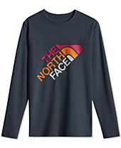 The North Face Logo-Print Rashguard, Big Boys (8-20)