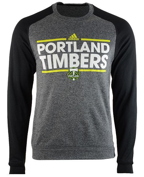 adidas Men's Portland Timbers Dassler Local Crew Sweatshirt