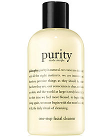 philosophy purity made simple cleanser, 8 oz