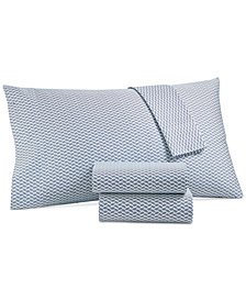 Charter Club Damask Designs Printed Full 4-pc Sheet Set, 500 Thread Count, Created for Macy's