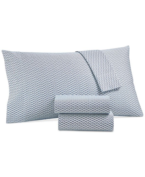 Charter Club CLOSEOUT! Printed Twin XL 3-pc Sheet Set, 550 Thread Count, Created for Macy's