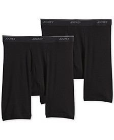 Big Man 2 pack Staycool+ Cotton Midway Boxer Briefs
