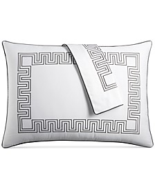 Greek Key Cotton Standard Sham, Created for Macy's