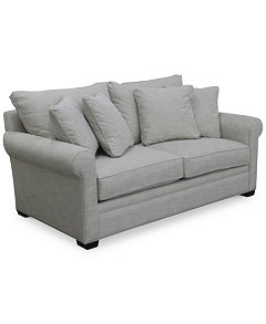 Dial II Fabric Sofa Collection Furniture Macys - Apartment sofas