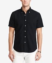 9123f448 Polo Ralph Lauren Black Mens Casual Button Down Shirts & Sports ...