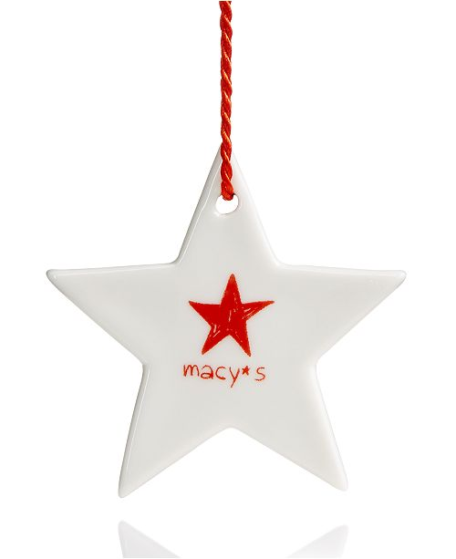 main image - Macy's Star Ornament, Created For Macy's - Christmas Ornaments